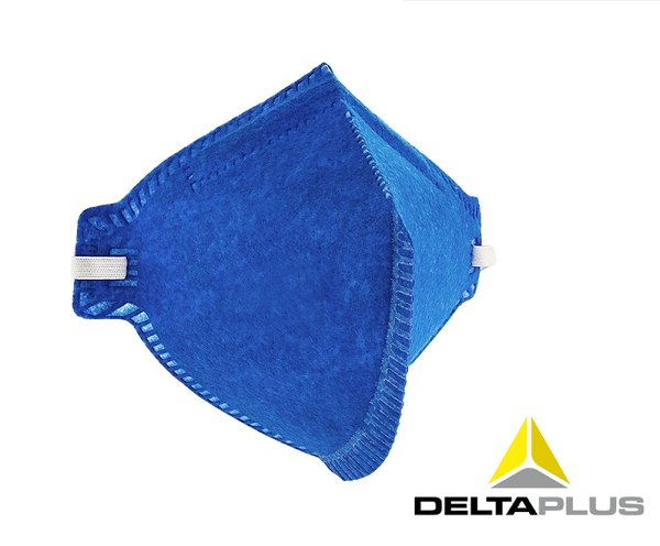 Máscara PFF1 Sem Válvula Delta Plus - Pacote com 10 unidades
