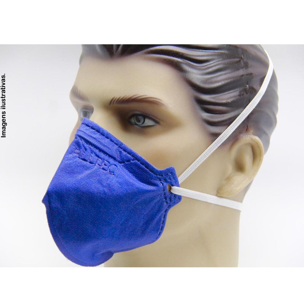 Máscara PFF2 Sem Válvula Alltec - (Pacote C/10 unidades)