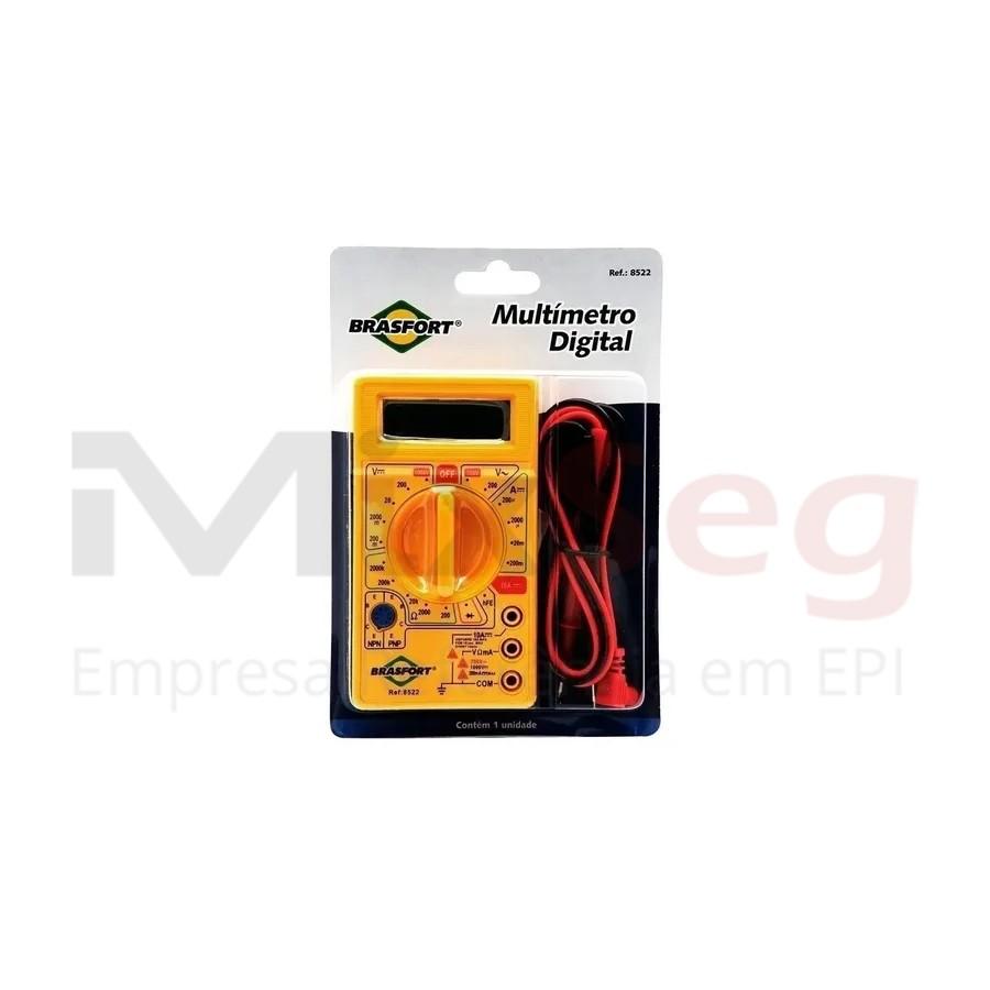 Multimetro Digital Brasfort 8522