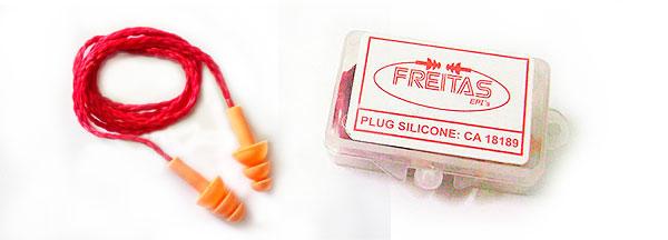 Protetor Auricular Plug Silicone - teste