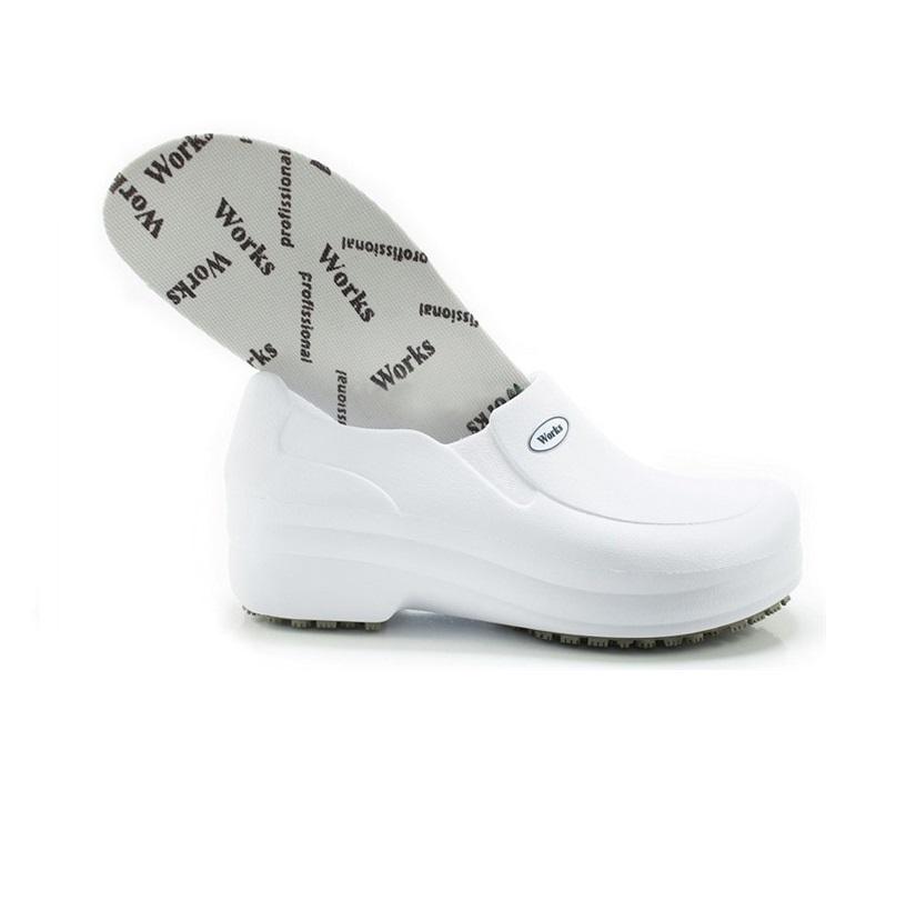 Sapato Babuch EVA Med WORK Ref BB65 Branco