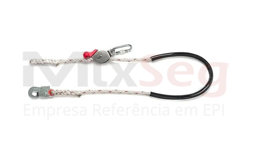 Talabarte Posicionamento Corda com Regulagem Inox CL T MULT 0004B