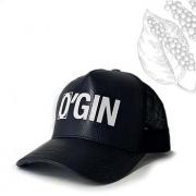 Boné O'GIN Couro Preto