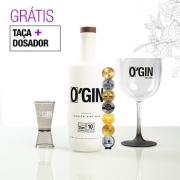 GIN O'GIN LONDON DRY 700ml + TAÇA E DOSADOR GRÁTIS