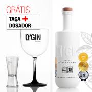 O'GIN LONDON DRY 700ml + TAÇA E DOSADOR GRÁTIS