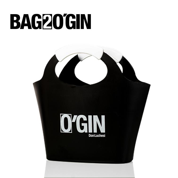 BAG2O'GIN PRETA 12L