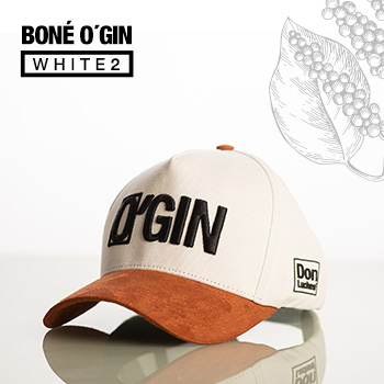 BONÉ O'GIN WHITE 2