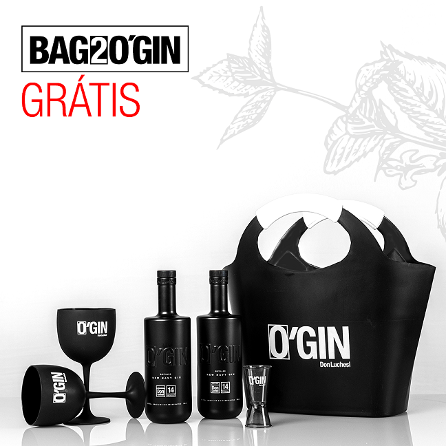 DOUBLE BLACK + BAG2GIN GRATIS