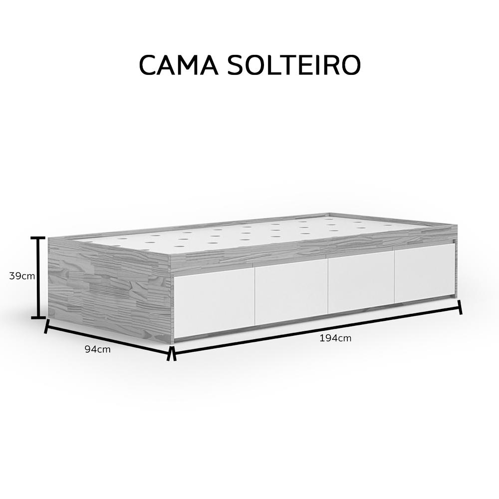 Cama 04 Gavetões