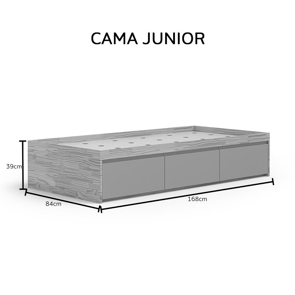 Cama Gavetões