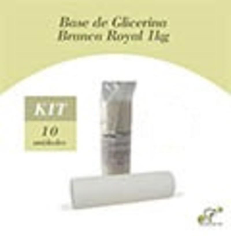 10 Bases Glicerina Brancas Royal de 1 Kg