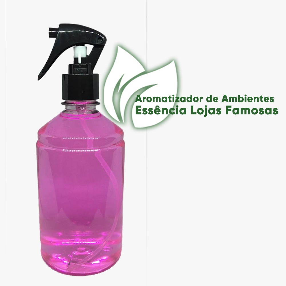 Aromatizador De Ambientes, Cheiro De Lojas Famosas 500 Ml