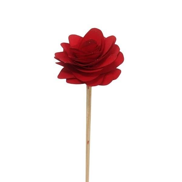 Vareta Rosa Madeira - VERMELHA
