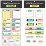 Adesivos p/ Planner Cartões Gigantes