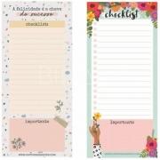 Bloco Checklist Notepad Cartões Gigantes