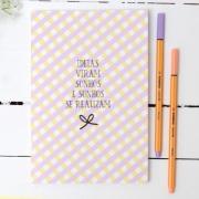 Caderno/Módulo/Caderneta Pontilhado Papelote