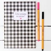 Caderno/Módulo/Caderneta Semanal Papelote