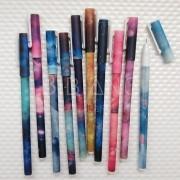 Canetas Coloridas Estampadas (10 unid.)