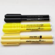 Marca-Texto Up Preto e Amarelo Newpen