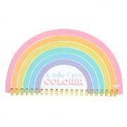 Mini Planner Semanal Colorido