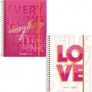 Planner Espiral Love Pink 2022 Tilibra