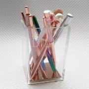 Porta-Lápis Acrílico Luxo