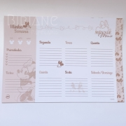 Refil/Bloco Planner Semanal Minnie DAC