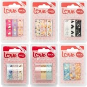 Washi Tape Love (3 unid)