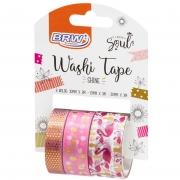 Washi Tape Shine Flamingo BRW