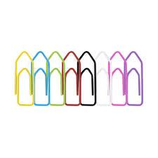 200 Mini Clips Coloridos BRW  - Bibiane Papelaria