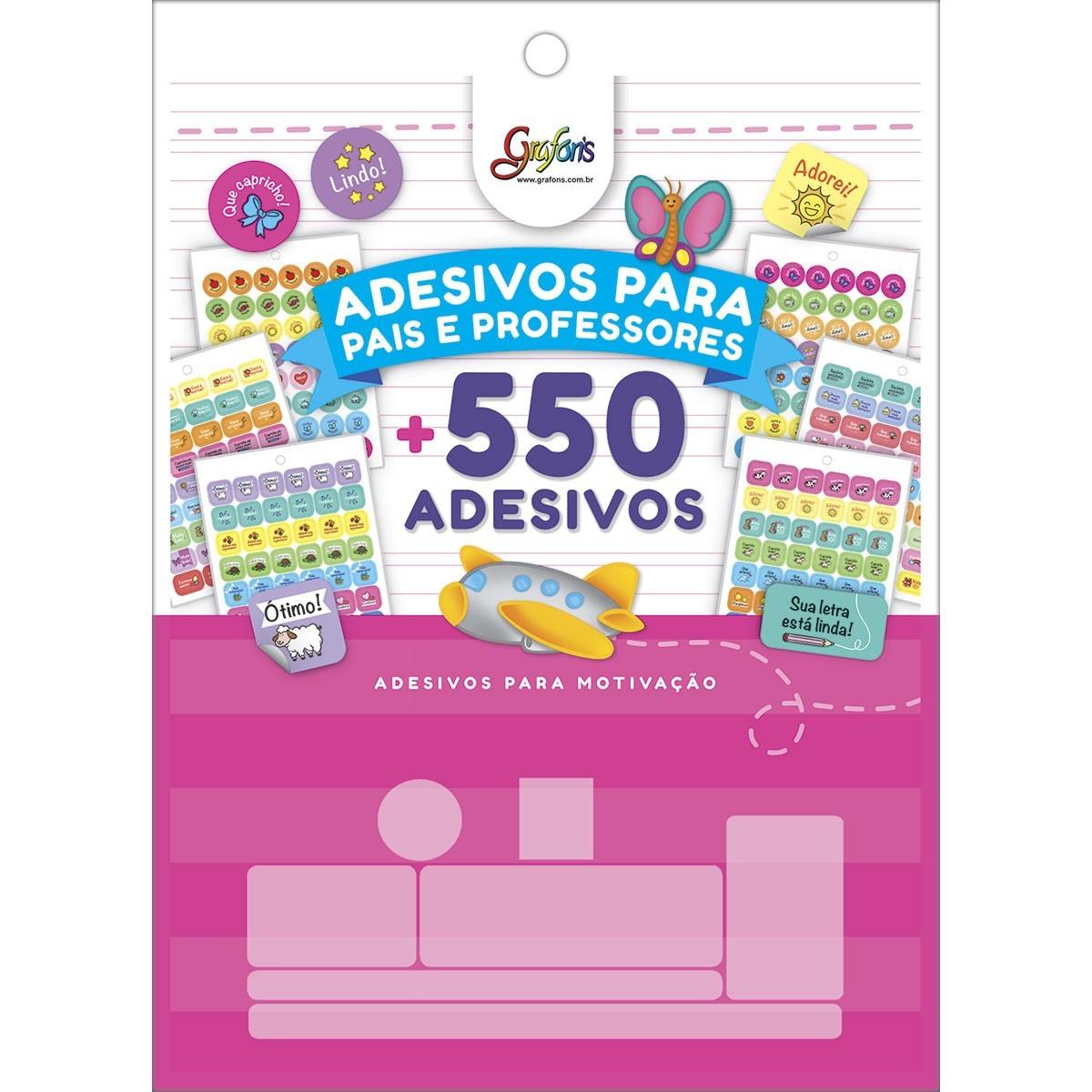 Bloco de Adesivos Decorados p/ Professores Tilibra  - Bibiane Papelaria