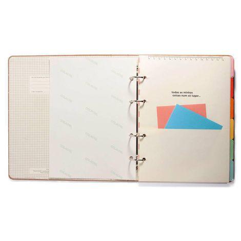 Caderno Argolado Criativo Cícero  - Bibiane Papelaria