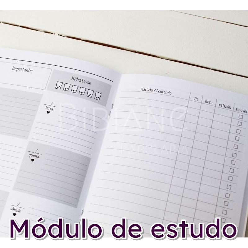 Caderno/Módulo/Caderneta Estudos Papelote  - Bibiane Papelaria