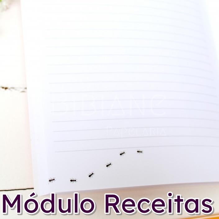 Caderno/Módulo/Caderneta Papelote  - Bibiane Papelaria