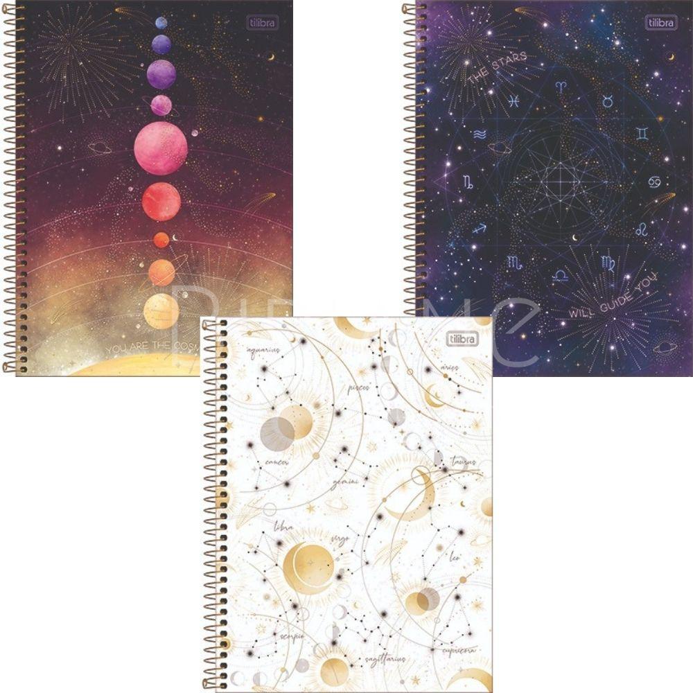 Caderno Universitário Magic 2022 Tilibra  - Bibiane Papelaria