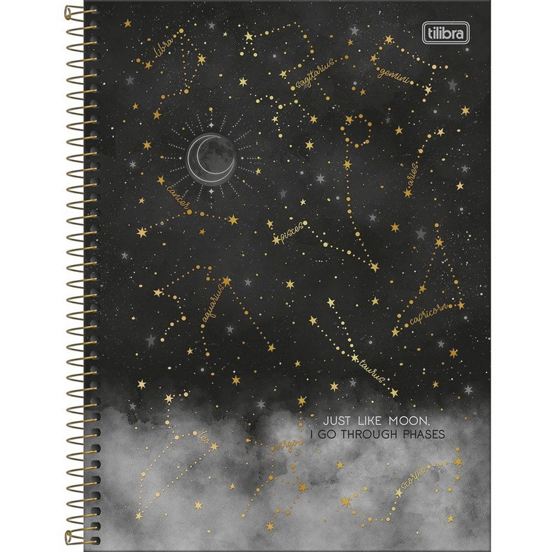 Caderno Universitário Magic Tilibra  - Bibiane Papelaria