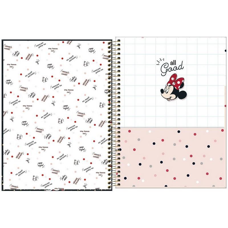 Caderno Universitário Minnie Tilibra  - Bibiane Papelaria