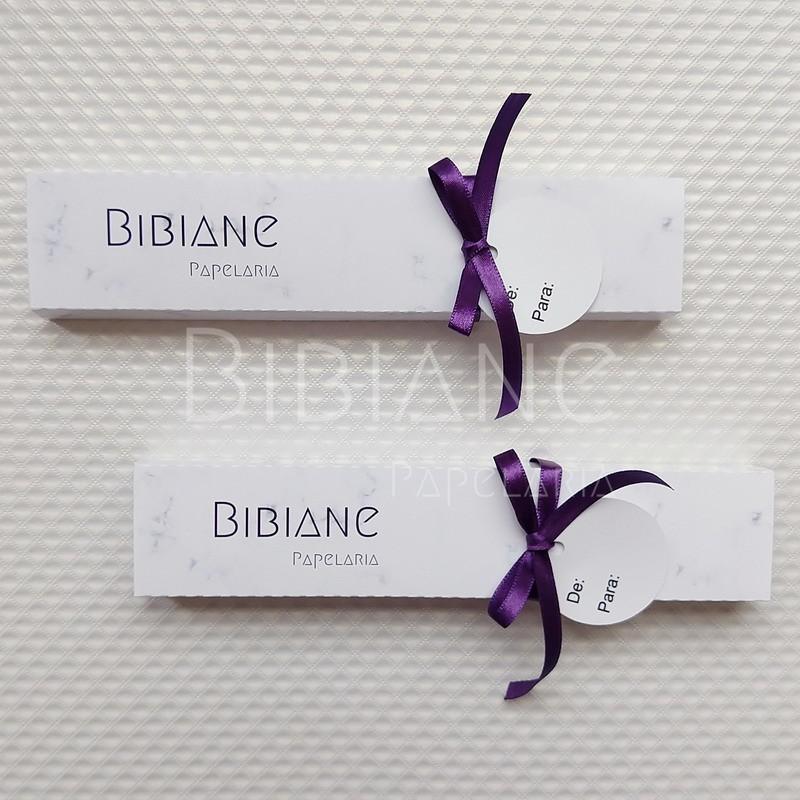 Caixa de Caneta p/ Presente  - Bibiane Papelaria