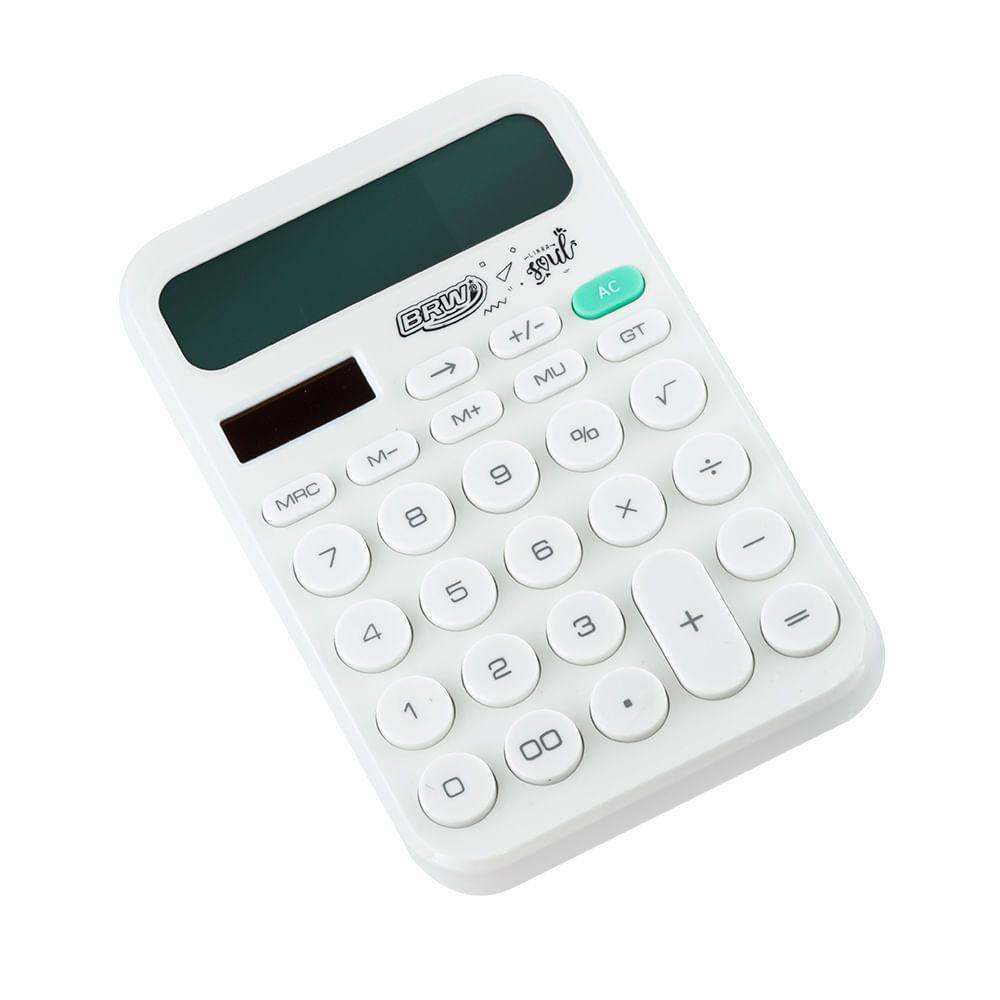 Calculadora de Mesa Hello BRW  - Bibiane Papelaria