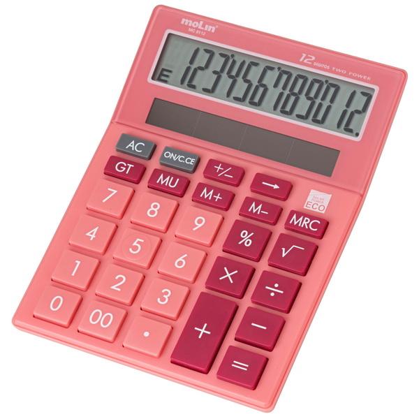 Calculadora de Mesa MC 8112 Molin  - Bibiane Papelaria