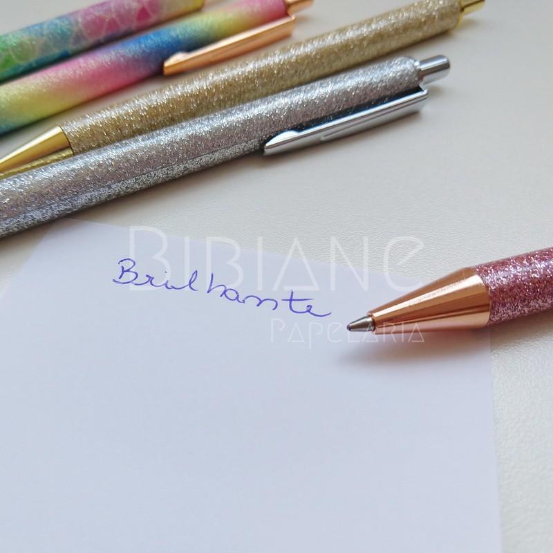 Caneta Brilhante  - Bibiane Papelaria