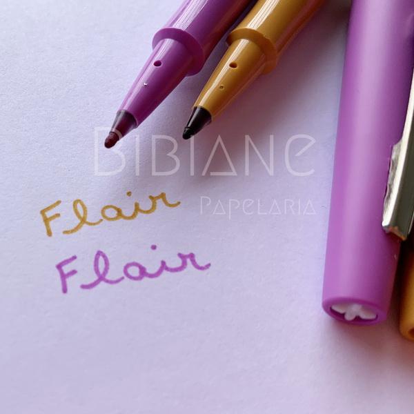 Caneta Flair Candy Pop c/ 6 Paper Mate  - Bibiane Papelaria