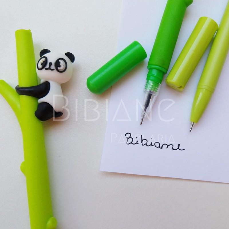 Caneta Panda  - Bibiane Papelaria