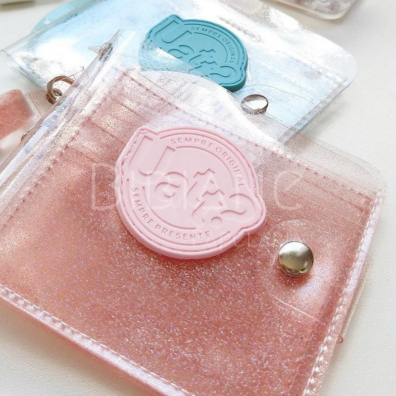 Carteira Cristal Glitter  - Bibiane Papelaria