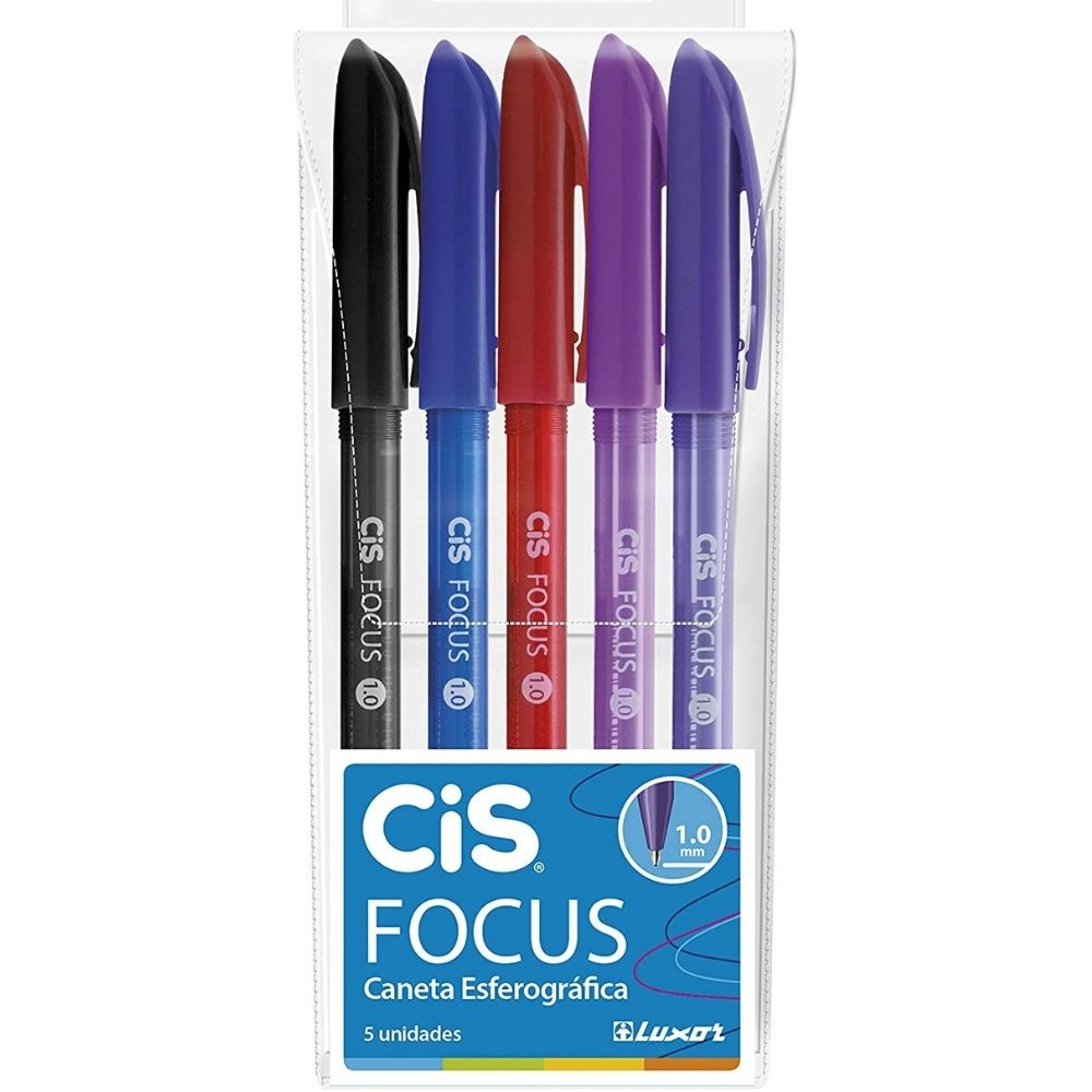 Cis Focus Cis (Kit)  - Bibiane Papelaria
