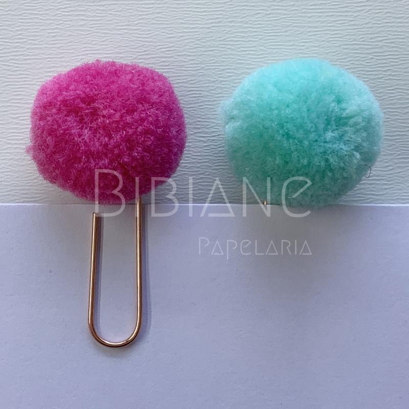 Clips Pompom  - Bibiane Papelaria