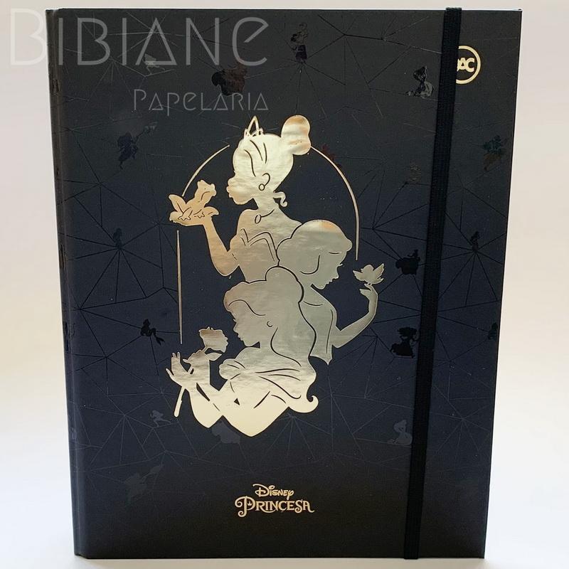 Fichário / Caderno Argolado Princesas DAC  - Bibiane Papelaria