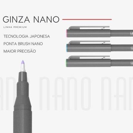 Ginza Nano Brush Pen Newpen Avulsa  - Bibiane Papelaria