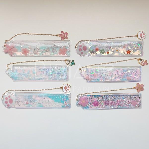 Marca-Páginas Glitter  - Bibiane Papelaria