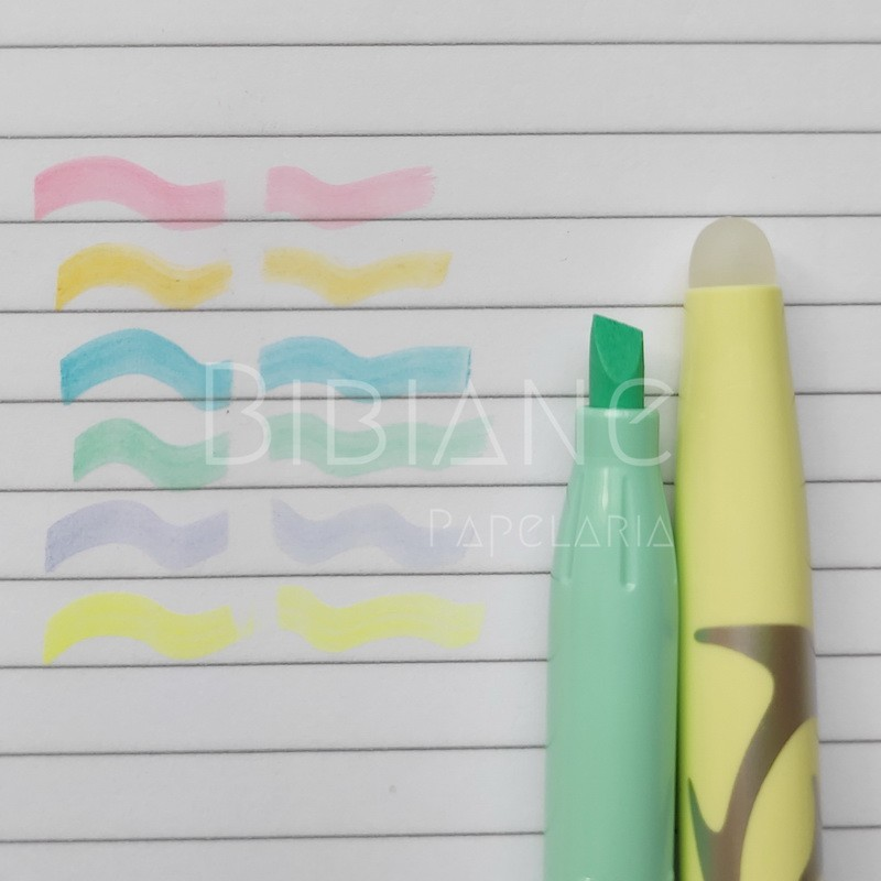 Marca-Texto Frixion Light Apagável Pastel Pilot  - Bibiane Papelaria
